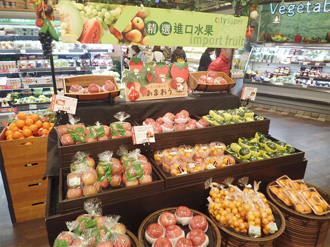photo:Export situation to Taiwan of Japan produced fruit